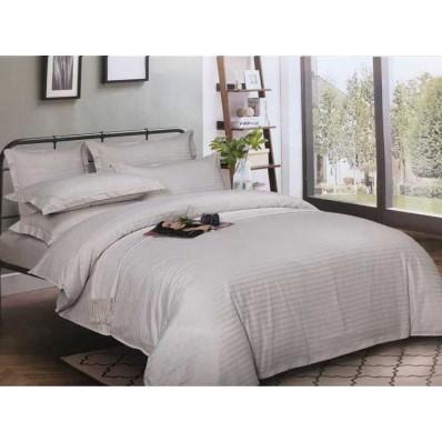Комплект постельного белья Крис-Пол страйп-сатин Светло-Серый (544201)