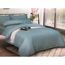 Комплект постельного белья Крис-Пол страйп-сатин Бирюза (545210)