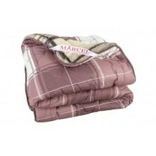Одеяло стеганное двустороннее «клетка»