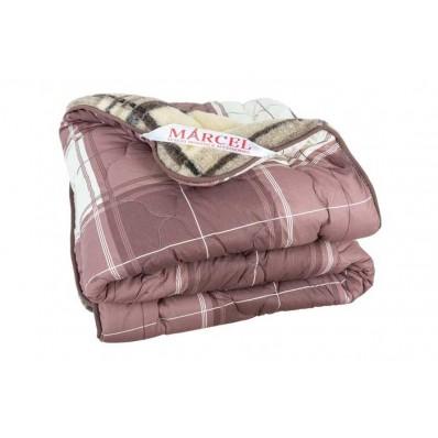 Одеяло стеганное двустороннее «клетка» CB0004265