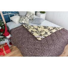 Одеяло стеганное двустороннее «Листья»