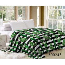 Плед Selena велсофт 500243 Кактусы Зеленые