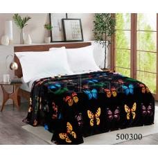 Плед Selena велсофт 500301 Ночные-Бабочки