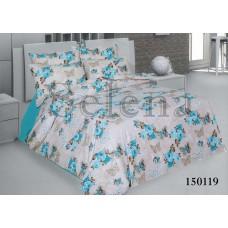 Постельное белье Selena бязь light 150119 Нежность blue