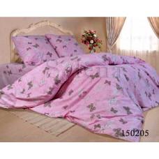 Постельное белье Selena бязь light 150205 Бабочки Pink