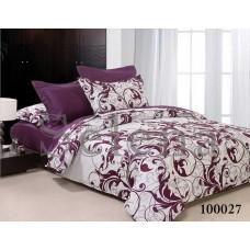 Постельное белье Selena бязь 100027 Вензель Фиолет