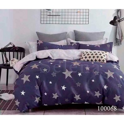 Комплект Постельное белье Selena бязь 100068 Бесконечные Звезды
