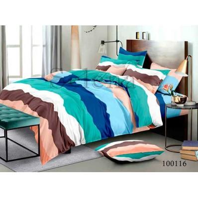 Комплект Постельное белье Selena бязь 100116 Разноцветные Полосы