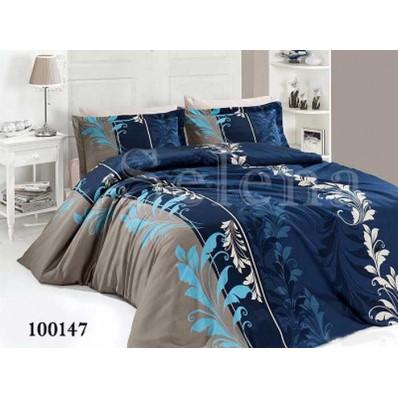 Постельное белье Selena Бязь 100147 Триада blue