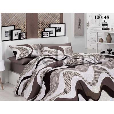 Комплект постельного белья Selena Бязь 100148 Аделина Беж