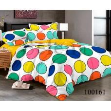 Постельное белье Selena бязь 100161 Круги Разноцветные