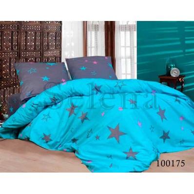 Комплект Постельное белье Selena бязь 100175 Цветные Звезды