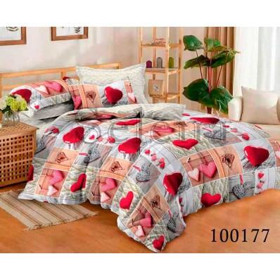 Комплект Постельное белье Selena бязь 100177 Романтическое Настроение