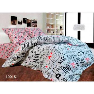 Комплект Постельное белье Selena бязь 100181 Kiss