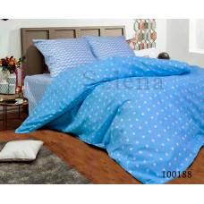 Постельное белье Selena бязь 100188 Звезды Зигзаг Blue