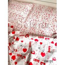 Постельное белье Selena бязь 100192 Любовь Морковь