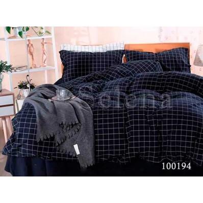 Комплект Постельное белье Selena бязь 100194 Дипломат Blue