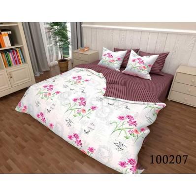 Постельное белье Selena бязь 100207 Цветочный Романс 2