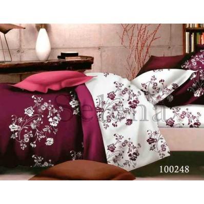 Комплект Постельное белье Selena бязь 100248 Топаз