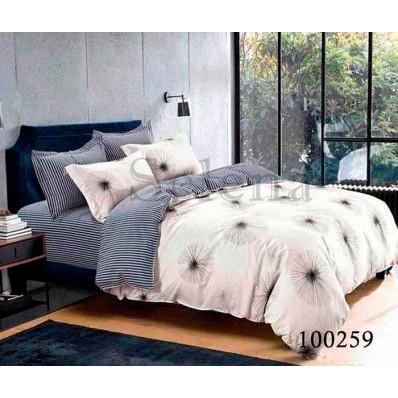 Комплект Постельное белье Selena бязь 100259 Полосатый Одуванчик