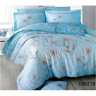 Постельное белье Selena бязь 100270 Одуванчик blue