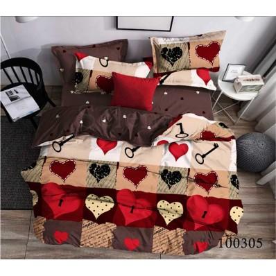 Постельное белье Selena бязь 100305 Любящее Сердце