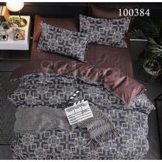 Постельное белье Selena бязь 100384 Восточный мотив Brown