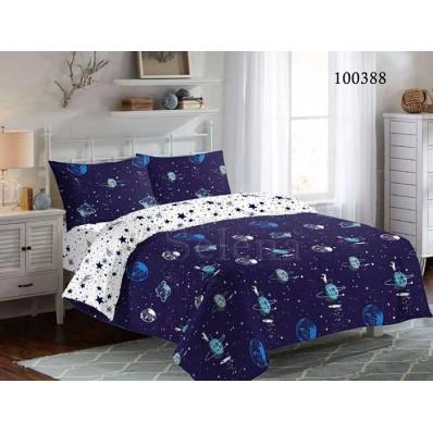 Постельное белье Selena бязь 100388 Галактика