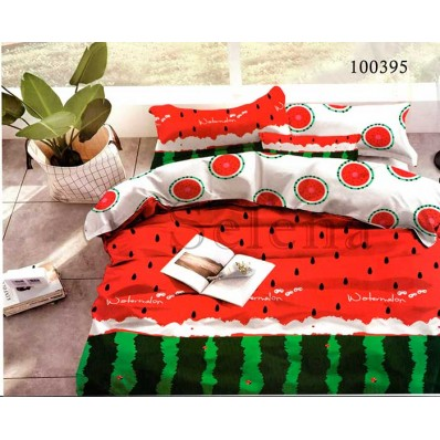 Постельное белье Selena бязь 100395 Арбузный Рай