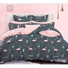 Постельное белье Selena бязь 100407 Фламинго 2