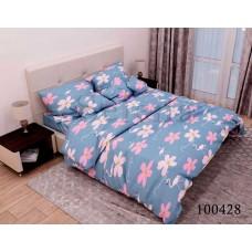 Постельное белье Selena бязь 100428 Цветочный фламинго