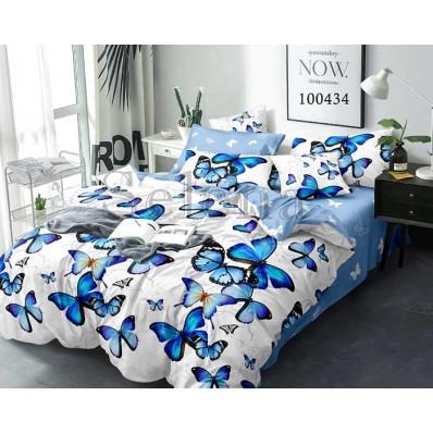 Постельное белье Selena бязь 100434 Полет бабочек blue