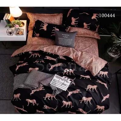 Постельное белье Selena бязь 100444 Леопарды