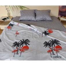 Постельное белье Selena бязь 100474 Фламинго Красный