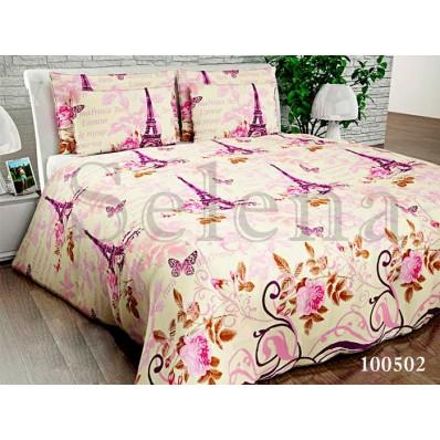 Комплект постельного белья Selena бязь 100502 Париж