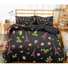 Постельное белье Selena бязь 100514 Розы Парижа