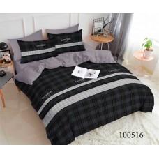 Постельное белье Selena бязь 100516 Лондон black