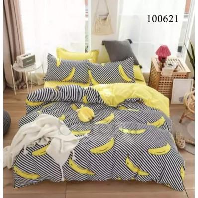 Постельное белье Selena бязь 100621 Бананчики