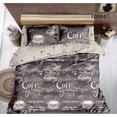 Постельное белье Selena бязь 100647 Кофейное Утро