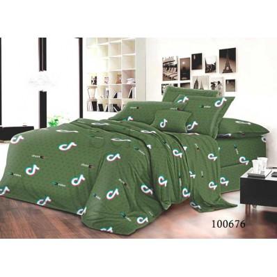 Постельное белье Selena бязь 100676 Видео Green