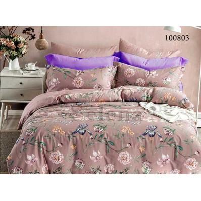 Постельное белье Selena бязь 100803 Ирисы