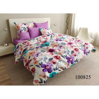 Постельное белье Selena бязь 100825 Радужные Цветы