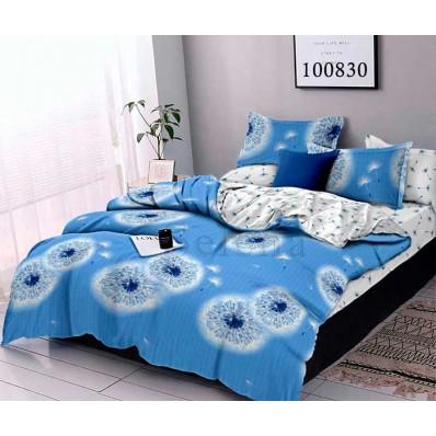 Постельное белье Selena бязь 100830 Одуванчик Blue 2