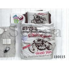 Постельное белье Selena подростковое бязь 110115 Мото 1