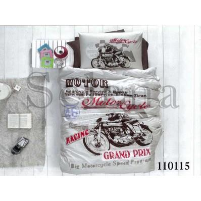 Комплект постельного белья Selena подростковое бязь 110115 Мото 1