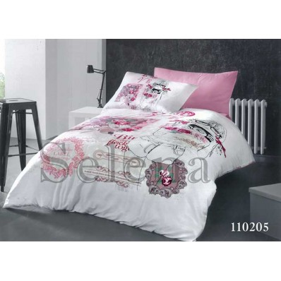 Комплект постельного белья Selena подростковое бязь 110205 Модница 2
