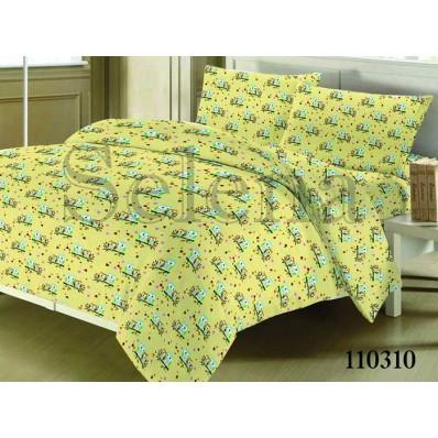Комплект постельного белья Selena подростковое бязь 110310 Совята