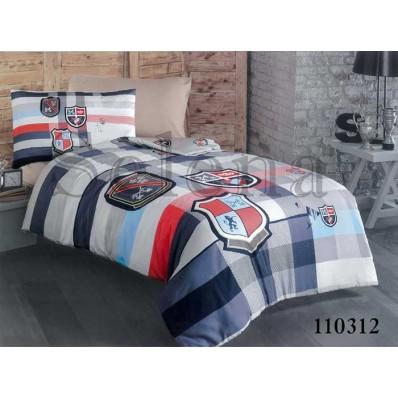 Комплект постельного белья Selena подростковое бязь 110312 Геральдика