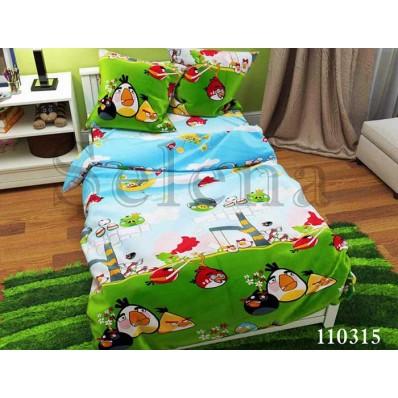 Комплект постельного белья Selena подростковое бязь 110315 Angry Birds