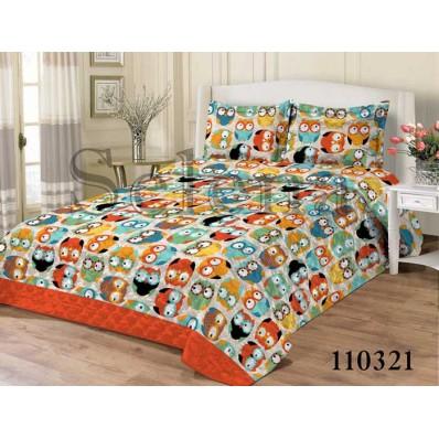 Комплект постельного белья Selena подростковое бязь 110321 Совы